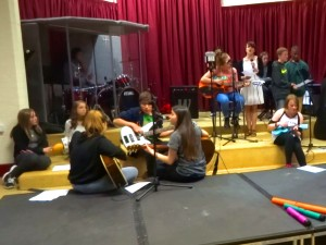 Music workshop brings together young musicians